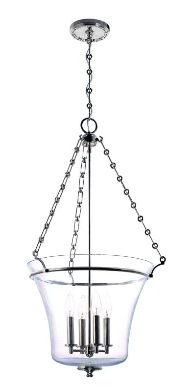 Hudson Valley Lighting 834 Four Light Up Lighting Foyer Pendant with Sale $1060.00 ITEM: bci1737711 ID#:834-PN UPC: 806134124038 :