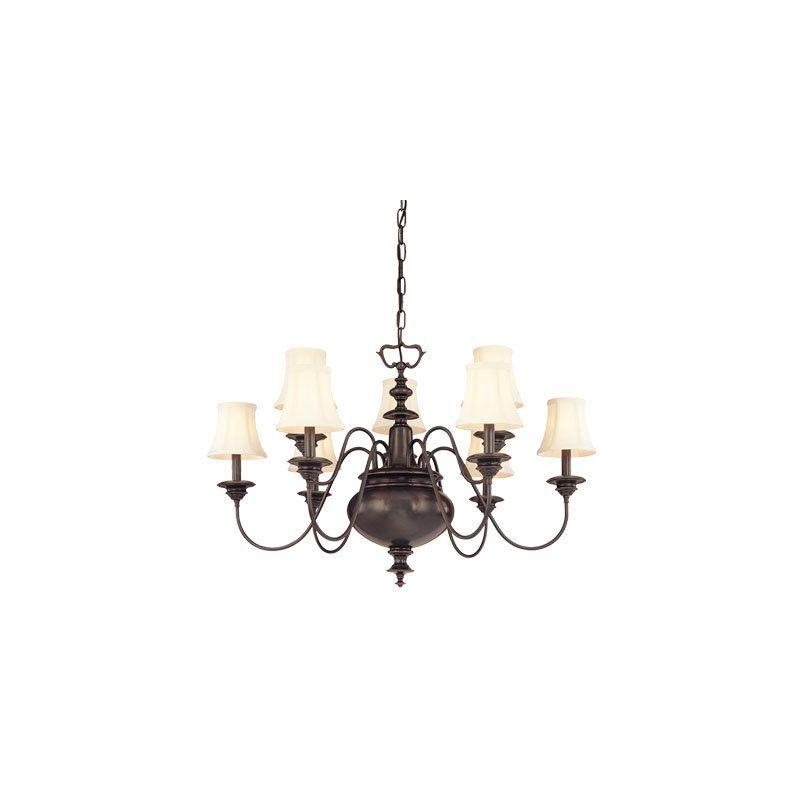 Hudson Valley Lighting 8719 Yorktown 9 Light Chandelier Polished Sale $1980.00 ITEM: bci982868 ID#:8719-PN UPC: 806134056407 :