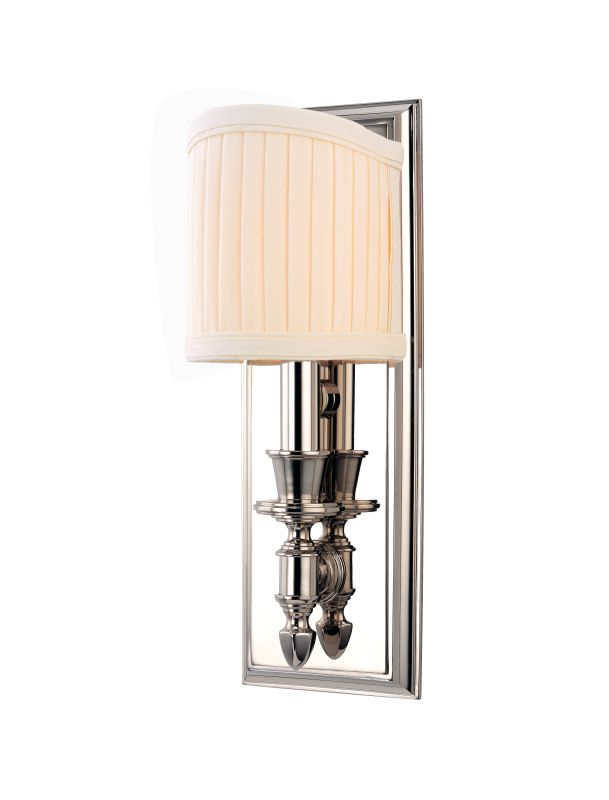 Hudson Valley Lighting 881 Single Light Up Lighting Brass Wallchiere Sale $320.00 ITEM: bci1737791 ID#:881-PN UPC: 806134119713 :