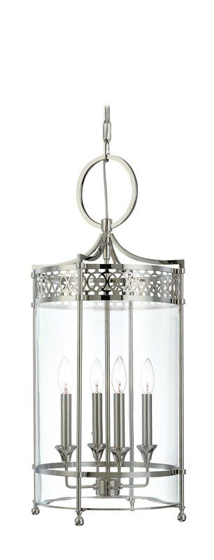 Hudson Valley Lighting 8994 Four Light Pendant from the Amelia Sale $1232.00 ITEM: bci982883 ID#:8994-PN UPC: 806134094515 :