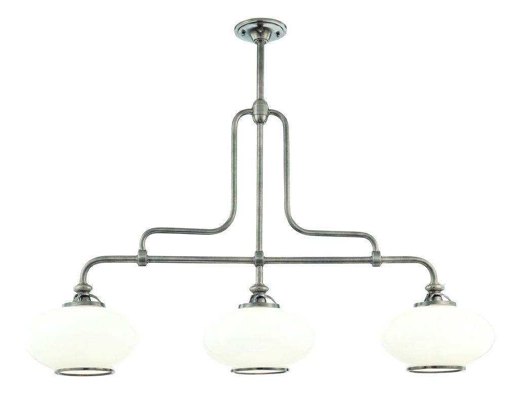 Hudson Valley Lighting 9813 3 Light Island Fixture from the Canton Sale $1446.00 ITEM: bci982931 ID#:9813-OB UPC: 806134097318 :