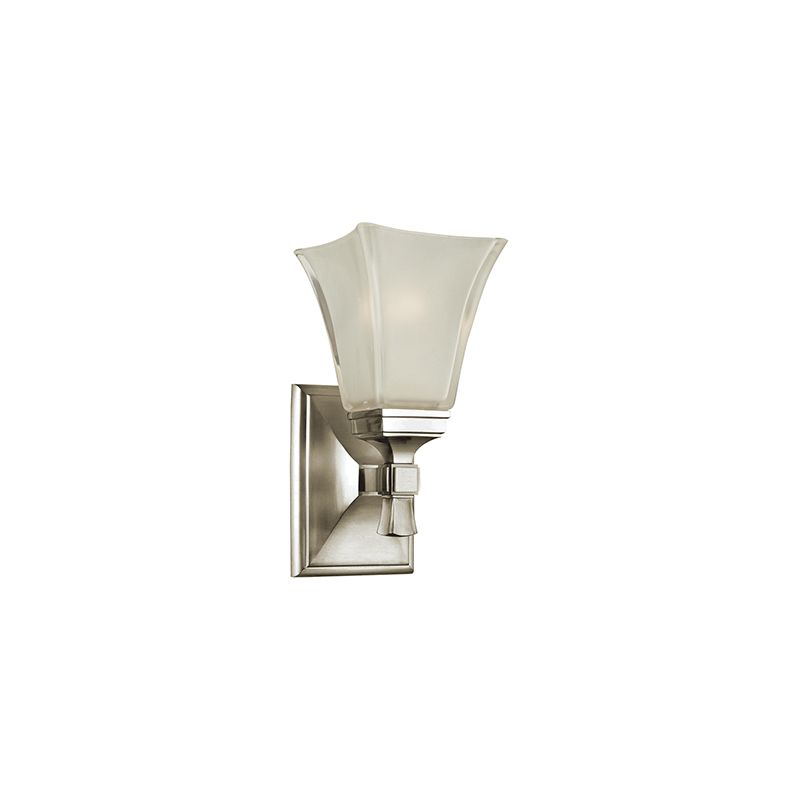 Wall Sconces At Kirklands : Hudson Valley Lighting 1171-PN Polished Nickel Kirkland 1 Light Bathroom Wall Sconce ...