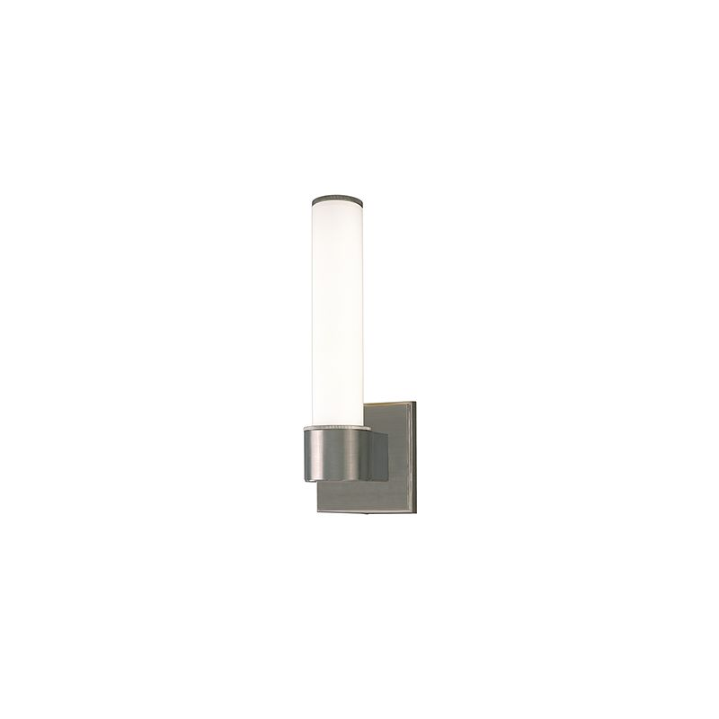 Hudson Valley 1261 Nickel Contemporary Mill Valley Wall Sconce