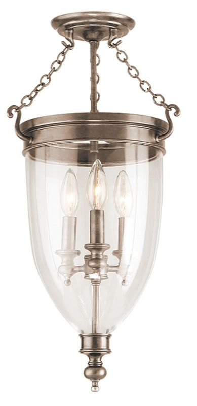 Hudson Valley Lighting 141 Three Light Semi-Flush Ceiling Fixture from Sale $798.00 ITEM: bci524914 ID#:141-HN UPC: 806134003500 :