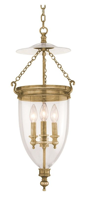 Hudson Valley Lighting 142 Three Light Pendant from the Hanover Sale $1018.00 ITEM: bci524887 ID#:142-AGB UPC: 806134003524 :