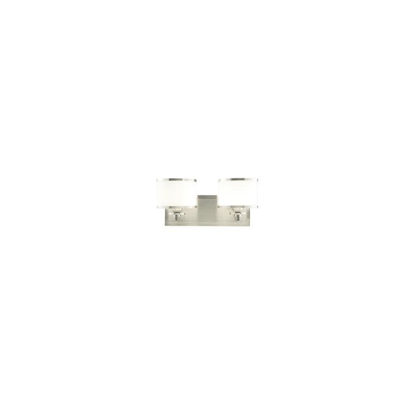 Hudson Valley 6102-PN Nickel Contemporary Aberdeen Bathroom Light