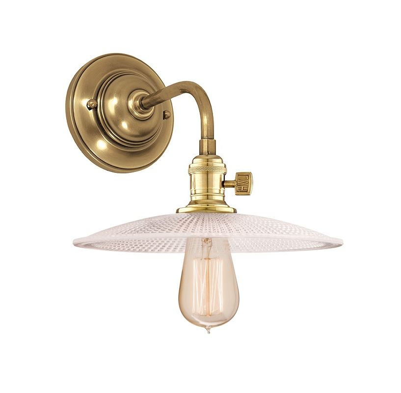 Hudson Valley Lighting 8000-GS4 Single Light Down Lighting Wall Sconce Sale $278.00 ITEM: bci1737831 ID#:8000-AGB-GS4 UPC: 806134103279 :