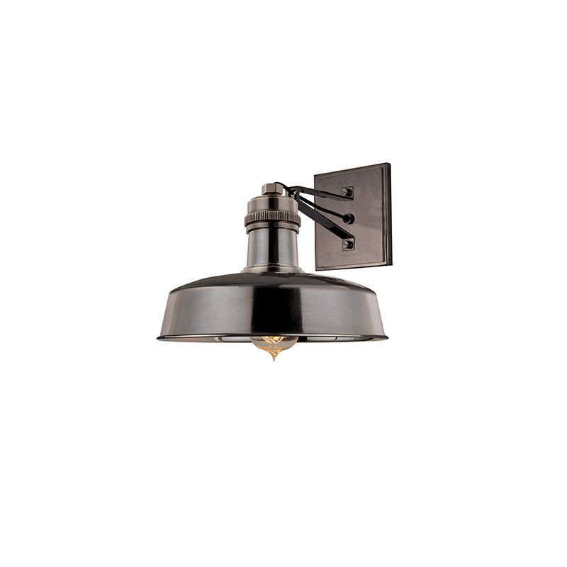 Hudson Valley 8601-DB Bronze Industrial Hudson Falls Wall Sconce