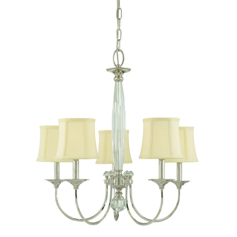 Hudson Valley Lighting 1815 Five Light Chandelier from the Rockville