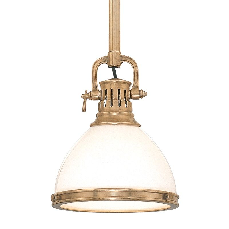 Hudson Valley Lighting 2621 Randolph 1 Light Farmhouse Style Mini Sale $398.00 ITEM: bci525108 ID#:2621-AGB UPC: 806134040871 :