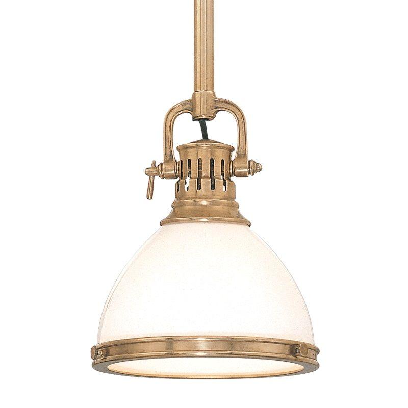 Hudson Valley Lighting 2621 Randolph 1 Light Farmhouse Style Mini Sale $398.00 ITEM: bci525108 ID#:2621-AGB UPC: 806134040871 :