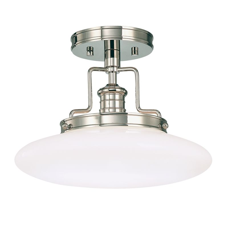 Hudson Valley 4202-PN Polished Nickel Industrial Beacon Ceiling Light