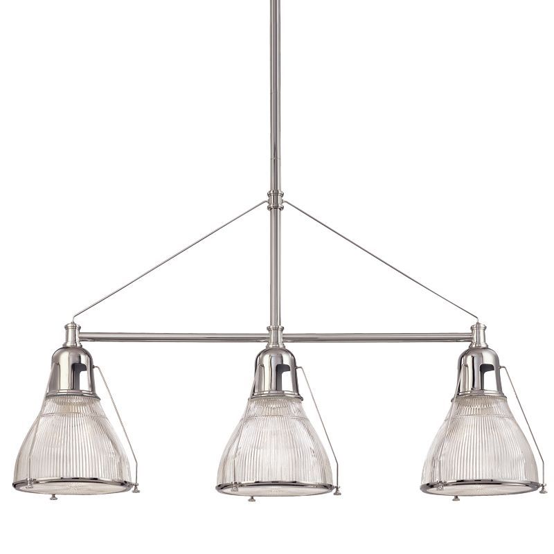 Hudson Valley Lighting 7313 Haverhill 3 Light Island Fixture with Sale $964.00 ITEM: bci982798 ID#:7313-PN UPC: 806134094386 :