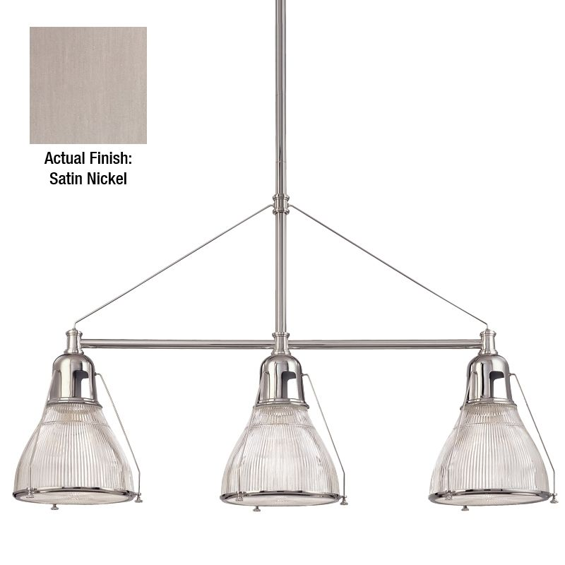 Hudson Valley Lighting 7313 Haverhill 3 Light Island Fixture with Sale $964.00 ITEM: bci982800 ID#:7313-SN UPC: 806134094393 :
