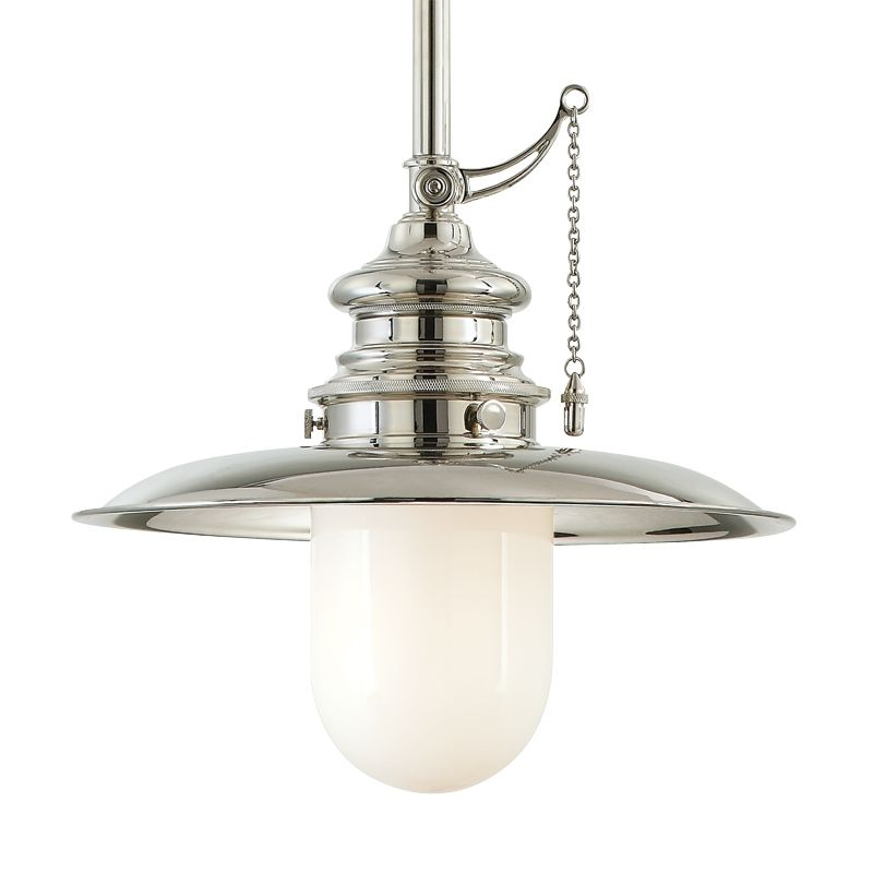 Hudson Valley 8815-PN Polished Nickel Industrial Kendall Pendant