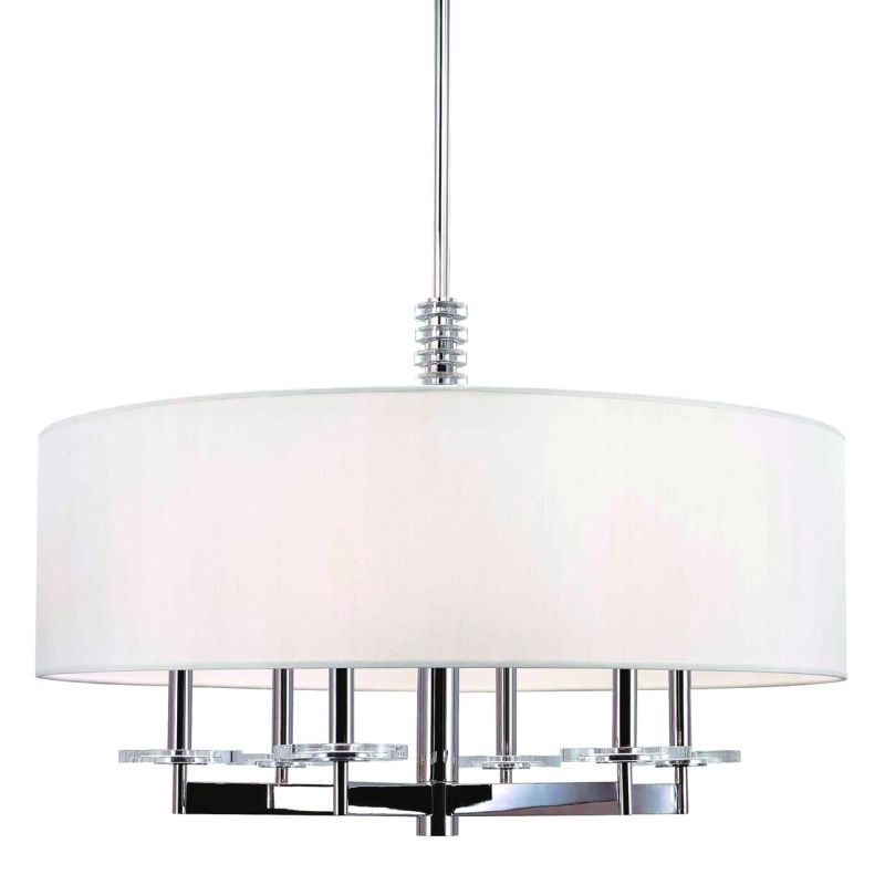 Hudson Valley 8830-PN Polished Nickel Contemporary Chelsea Chandelier