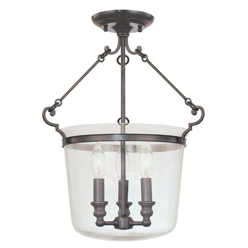 Hudson Valley Lighting 130 Three Light Semi Flush Ceiling Fixture from Sale $514.00 ITEM: bci982104 ID#:130-OB UPC: 806134094720 :