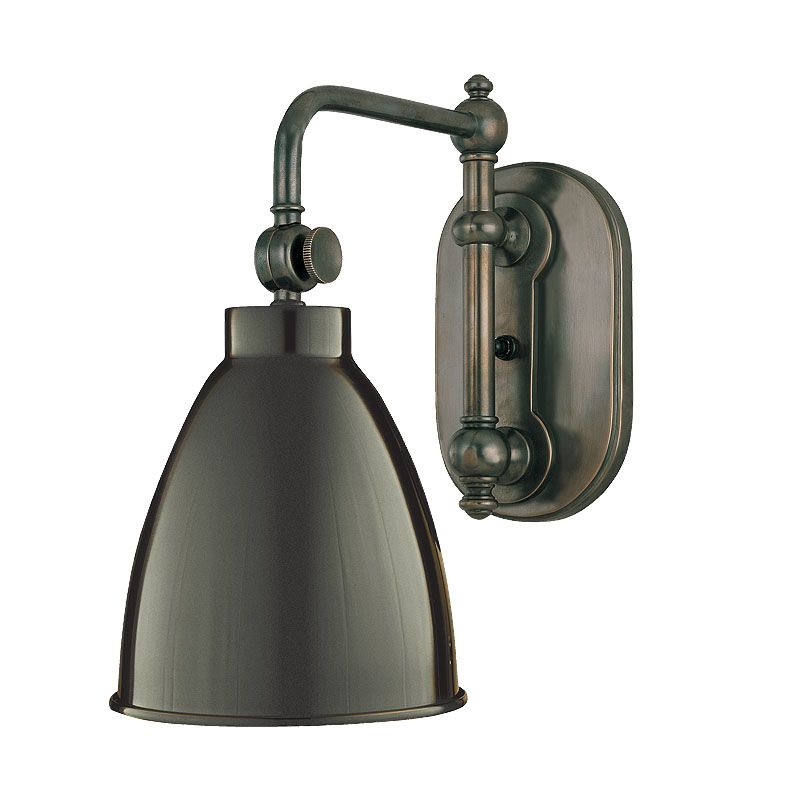 Hudson Valley 1429-OB Bronze Industrial Somerset Wall Sconce