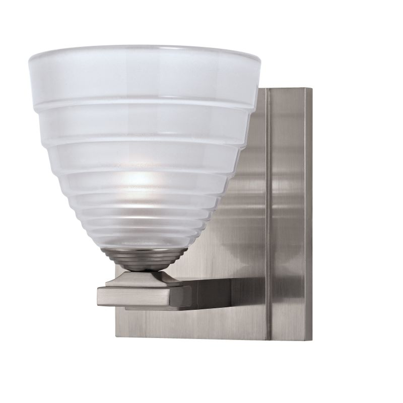 Hudson Valley Lighting 1441 Slaton 1 Light Xenon Bathroom Sconce Satin