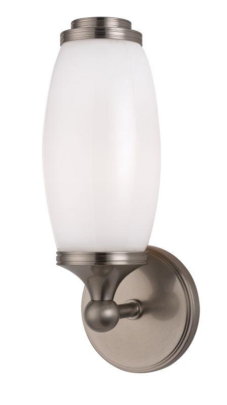 Hudson Valley Lighting 1681 Brooke 1 Light Wall Sconce Satin Nickel