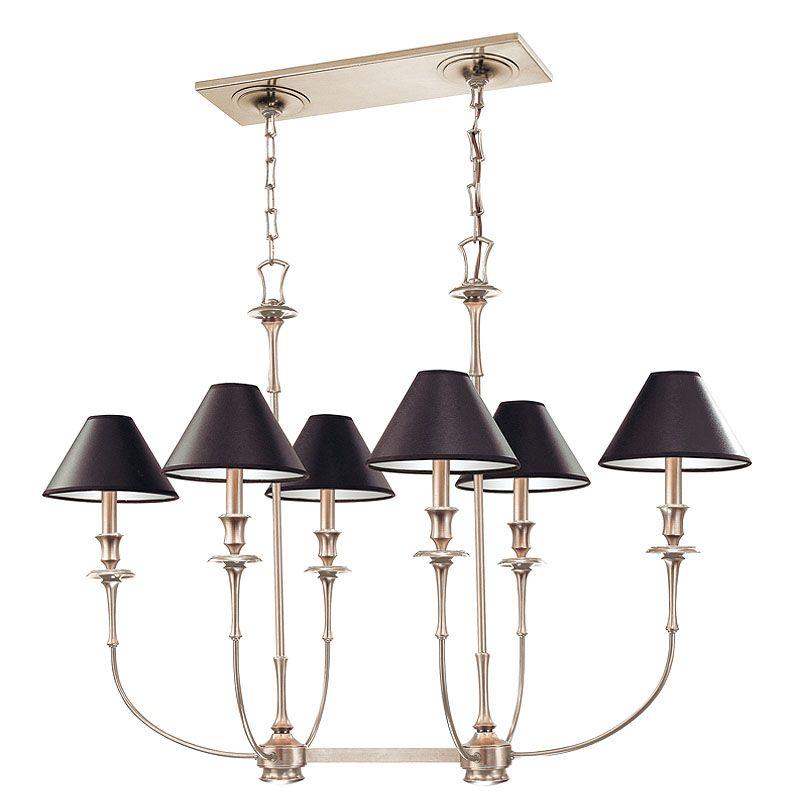 Hudson Valley Lighting 1868 Six Light Up Lighting Candelabra Style
