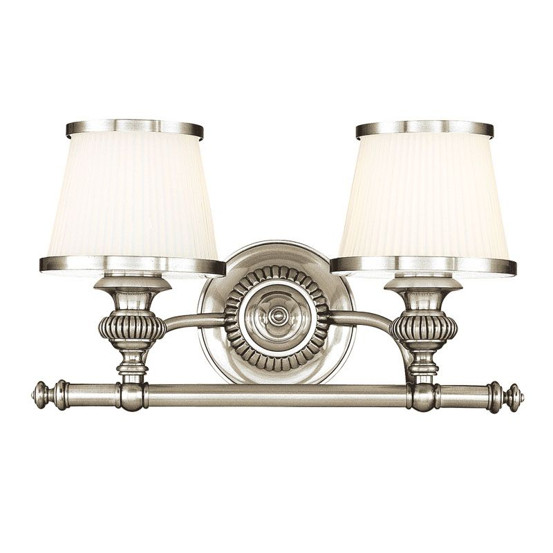 Hudson Valley Lighting 2002 Two Light Wall Sconce from the Milton Sale $320.00 ITEM: bci982404 ID#:2002-PN UPC: 806134097820 :