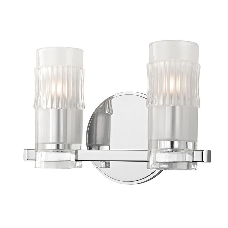 "Hudson Valley Lighting 2022 Malone 2 Light 10"" Bathroom Vanity Light"