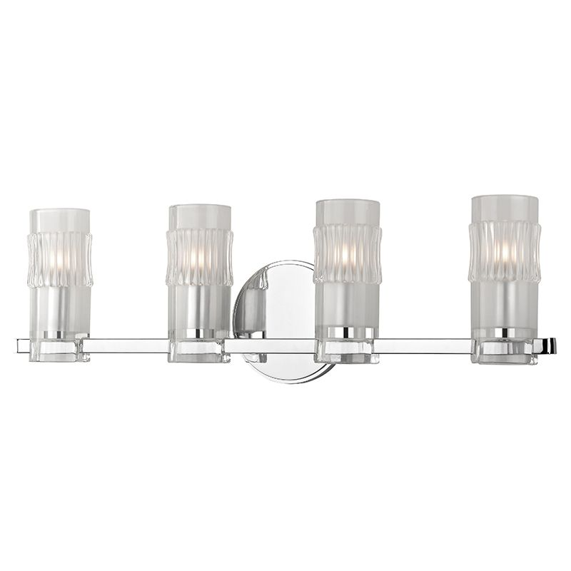 "Hudson Valley Lighting 2024 Malone 4 Light 23"" Bathroom Vanity Light Sale $152.00 ITEM: bci2680119 ID#:2024-PC UPC: 806134186807 :"