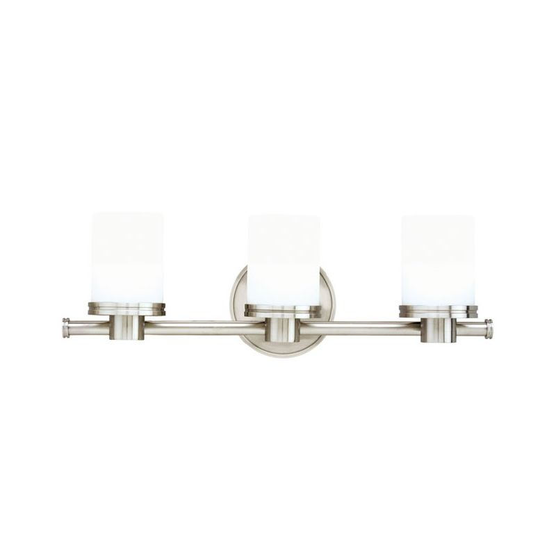 Hudson Valley 2053 Nickel Contemporary Southport Bathroom Light