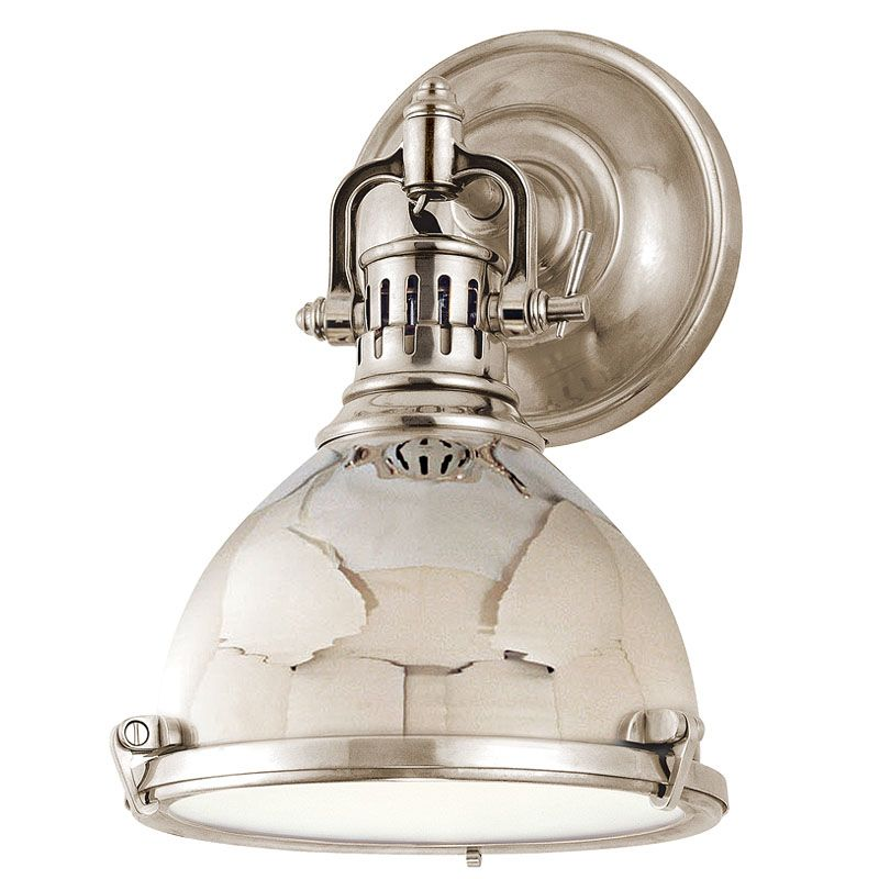 Hudson Valley 2209-PN Polished Nickel Industrial Pelham Wall Sconce Sale $450.00 ITEM: bci982422 ID#:2209-PN UPC: 806134055523 :