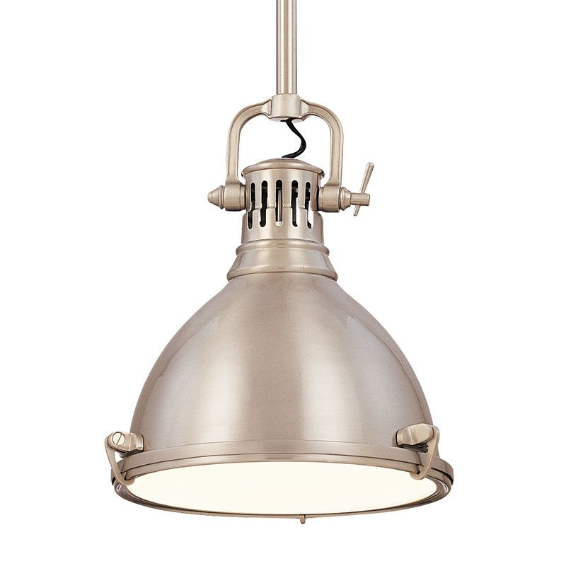Hudson Valley Lighting 2210-SN Satin Nickel Industrial Pelham Pendant Sale $536.00 ITEM: bci982427 ID#:2210-SN UPC: 806134055578 :