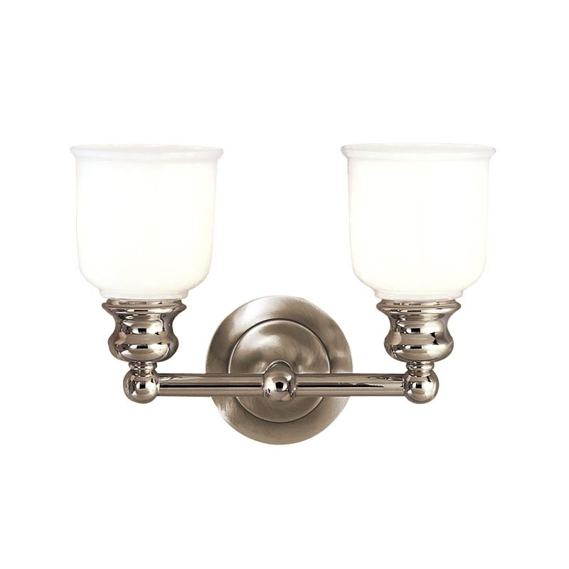 "Hudson Valley Lighting 2302 Two Light 14"" Wide Bathroom Fixture from Sale $278.00 ITEM: bci525584 ID#:2302-PN UPC: 806134012083 :"