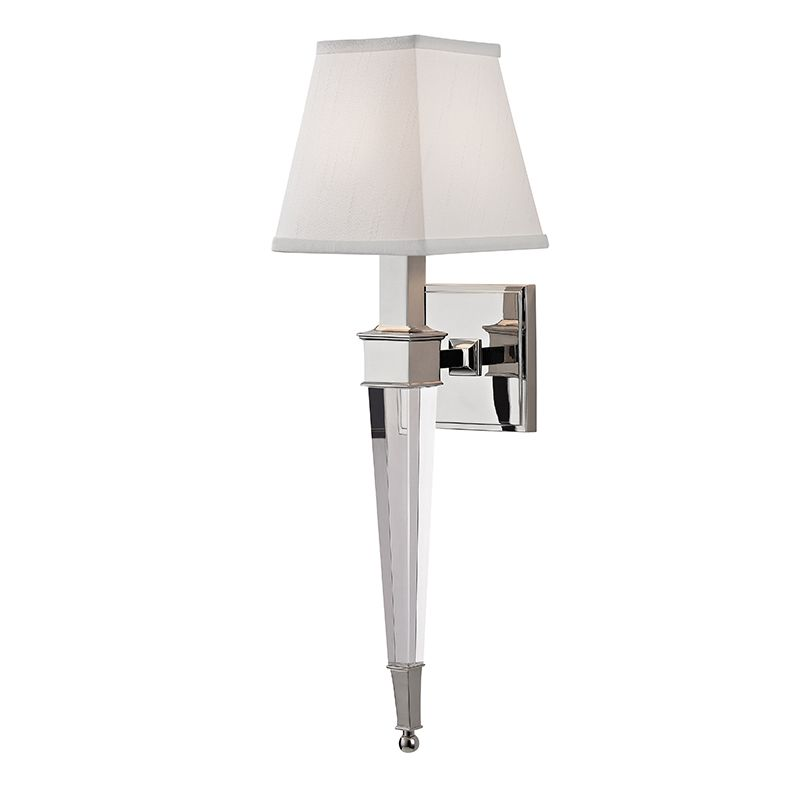 """Hudson Valley Lighting 2401 Ruskin Single Light 20"""" Wall Sconce with"""