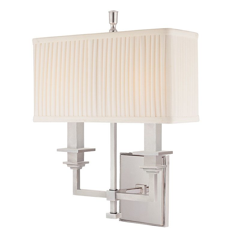 Hudson Valley Lighting 242 Two Light Wall Sconce from the Berwick Sale $482.00 ITEM: bci982133 ID#:242-PN UPC: 806134093501 :