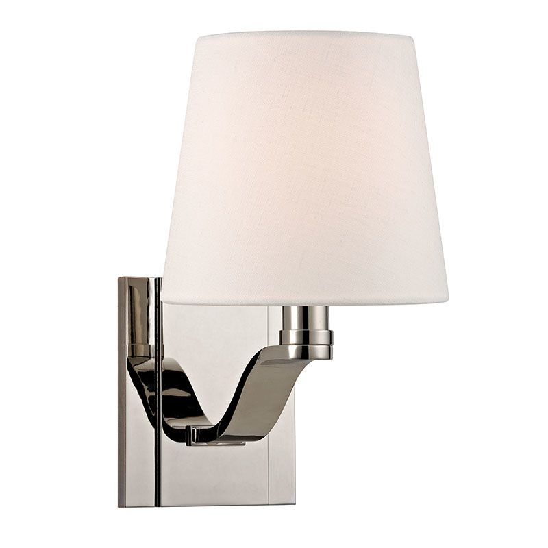 Hudson Valley Lighting 2461 Clayton 1 Light Wall Sconce with Linen