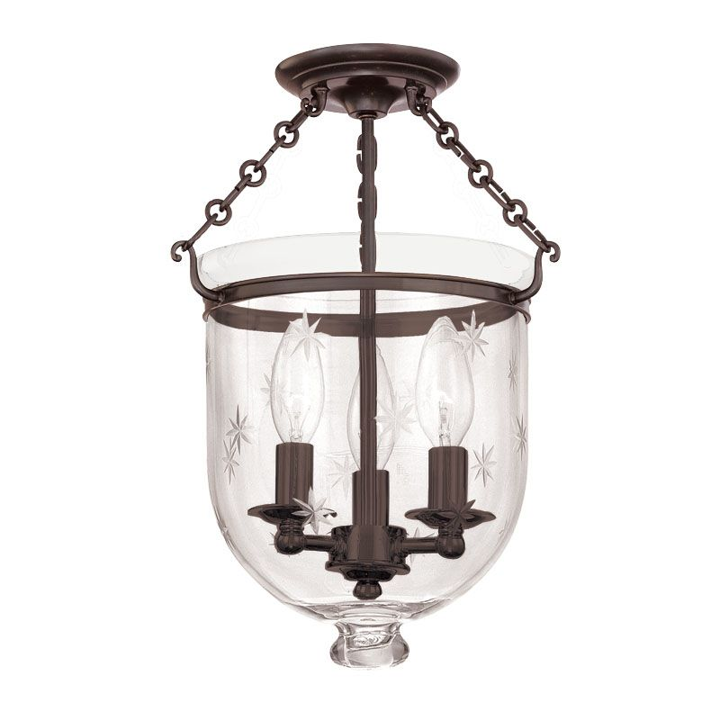 Hudson Valley Lighting 251-C3 Three Light Semi Flush Ceiling Fixture Sale $536.00 ITEM: bci983552 ID#:251-OB-C3 UPC: 806134061166 :
