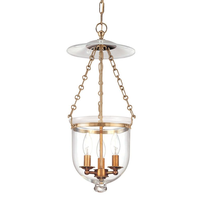 Hudson Valley Lighting 252-C1 Three Light Pendant from the Hampton Sale $632.00 ITEM: bci983582 ID#:252-AGB-C1 UPC: 806134061388 :