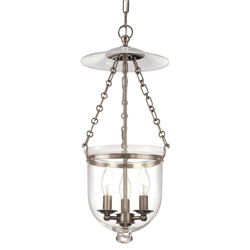Hudson Valley Lighting 252-C1 Three Light Pendant from the Hampton Sale $632.00 ITEM: bci983579 ID#:252-HN-C1 UPC: 806134061500 :