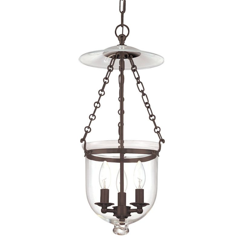 Hudson Valley Lighting 252-C1 Three Light Pendant from the Hampton Sale $632.00 ITEM: bci983580 ID#:252-OB-C1 UPC: 806134061623 :