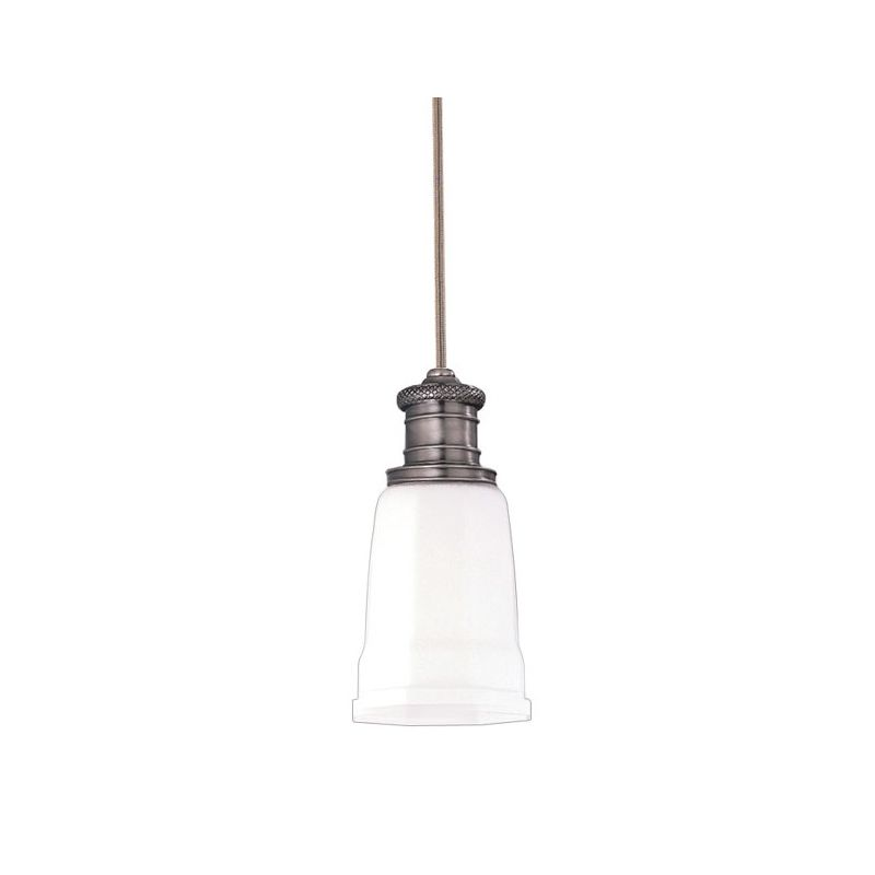 "Hudson Valley Lighting 2521 Single Light Pendant from the Bradford Sale $214.00 ITEM: bci525797 ID#:2521-AN UPC: 806134013004 Product Features: Finish: Old Bronze , Light Direction: Down Lighting , Width: 5"" , Height: 10.5"" , Genre: Traditional , Bulb Type: Compact Fluorescent, Incandescent , Number of Bulbs: 1 , Fully covered under Hudson Valley Lighting warranty , Location Rating: Indoor Use :"