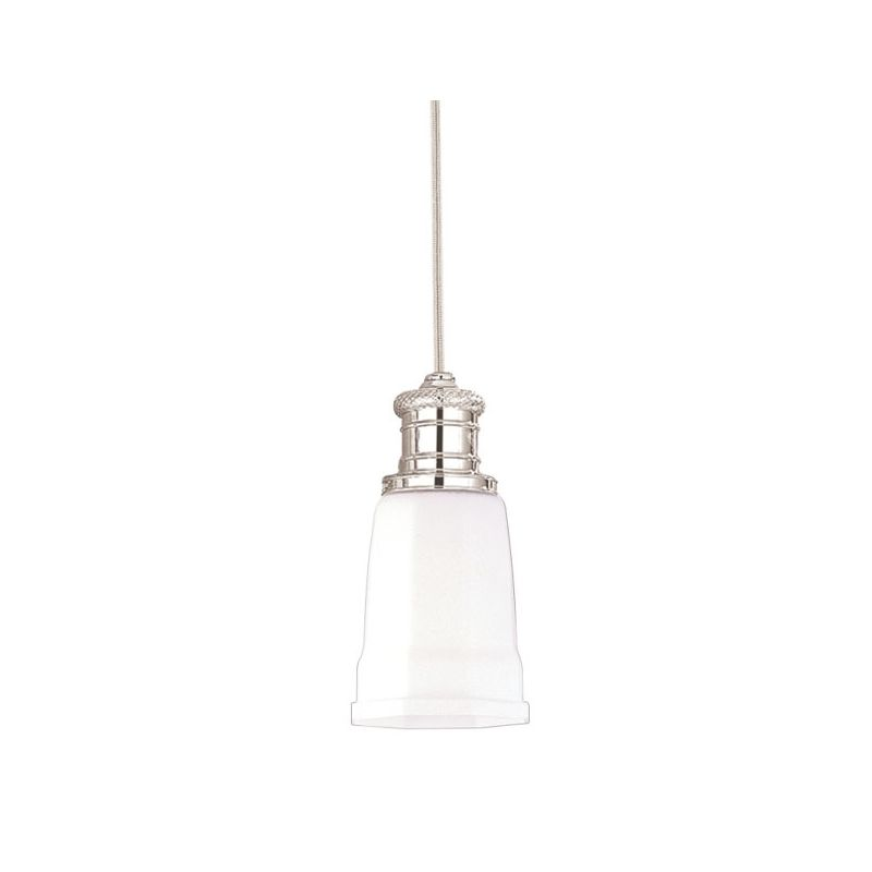 "Hudson Valley Lighting 2521 Single Light Pendant from the Bradford Sale $214.00 ITEM: bci525798 ID#:2521-PN UPC: 806134013028 Bradford Collection 1 Light Pendant Refresh your sense of beauty with this timeless collection 5"" D x 10 1/2"" Min. Ht. 1-75w Medium Base (Not Included) :"