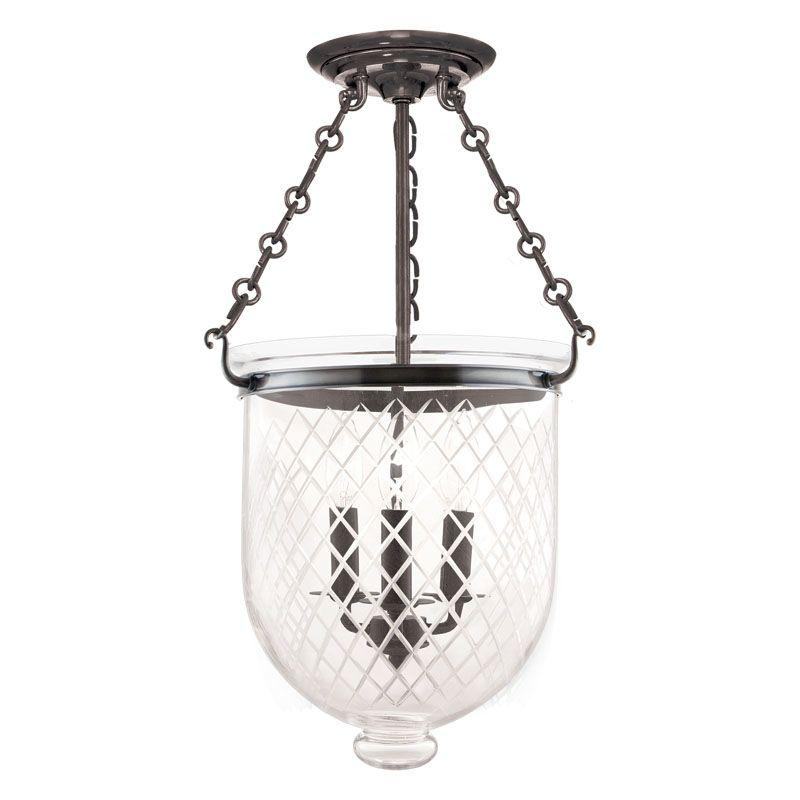 Hudson Valley Lighting 253-C2 Three Light Semi Flush Ceiling Fixture Sale $696.00 ITEM: bci983620 ID#:253-HN-C2 UPC: 806134056513 :