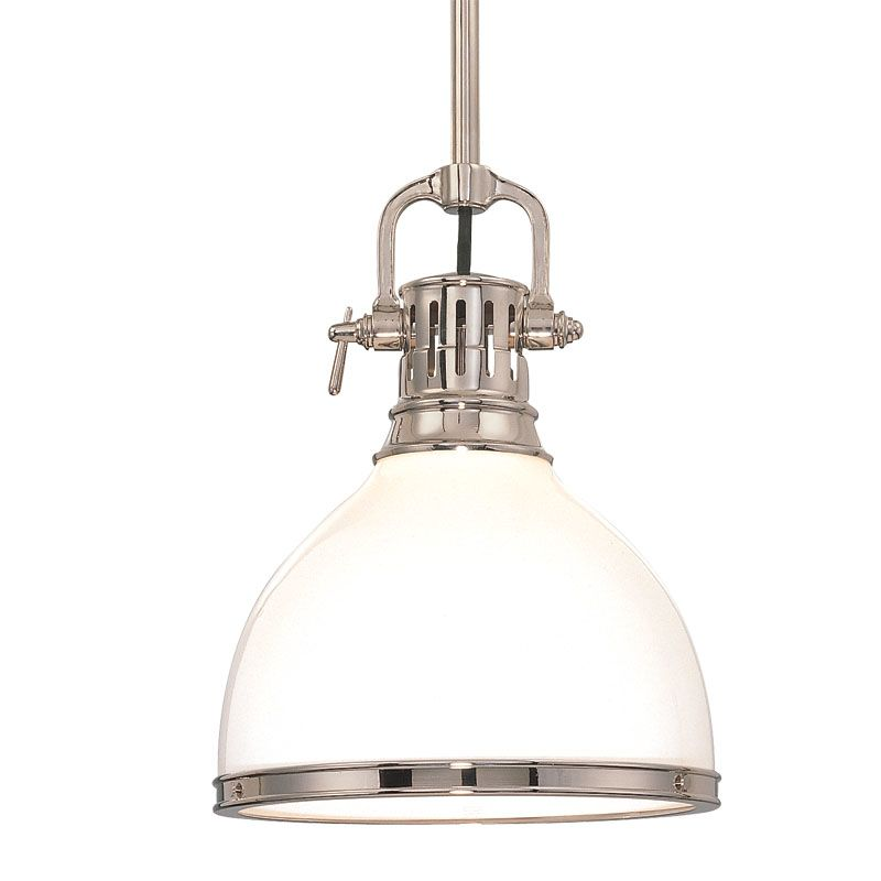Hudson Valley Lighting 2621 Randolph 1 Light Farmhouse Style Mini Sale $398.00 ITEM: bci524831 ID#:2621-PN UPC: 806134040895 :