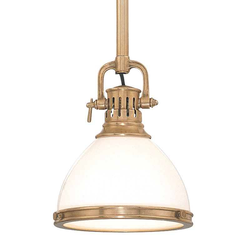 Hudson Valley Lighting 2623 Pendant Light Aged Brass Indoor Lighting