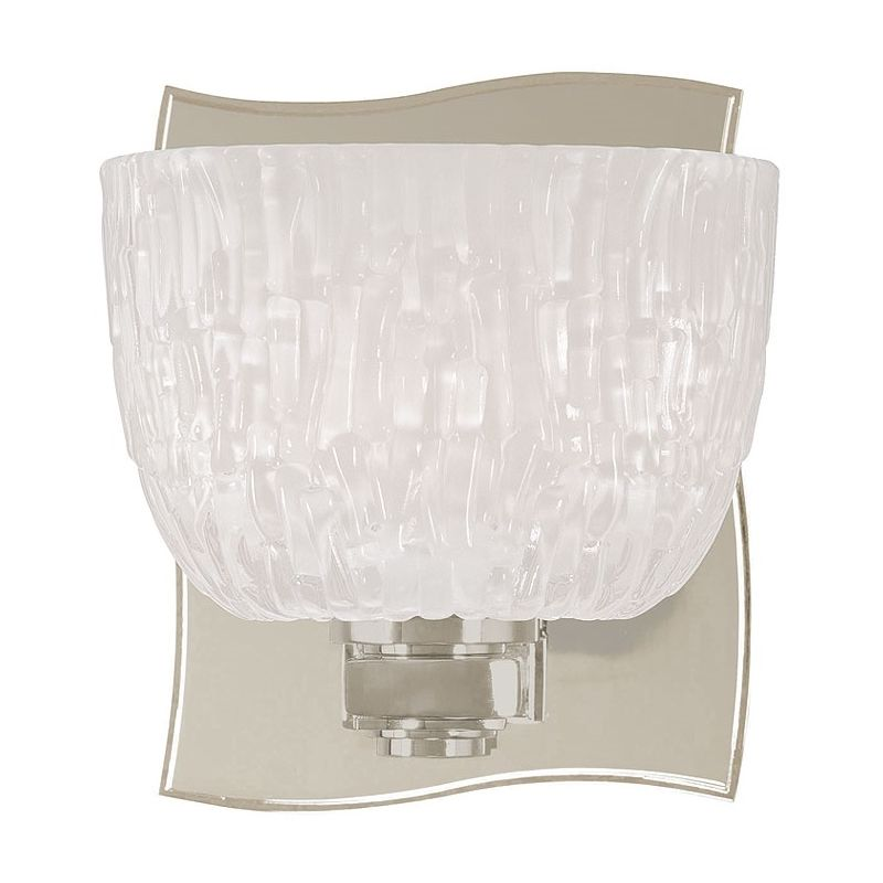 Hudson Valley Lighting 2661 Single Light Up Lighting Bath Vanity with Sale $172.00 ITEM: bci1737235 ID#:2661-SN UPC: 806134123468 :