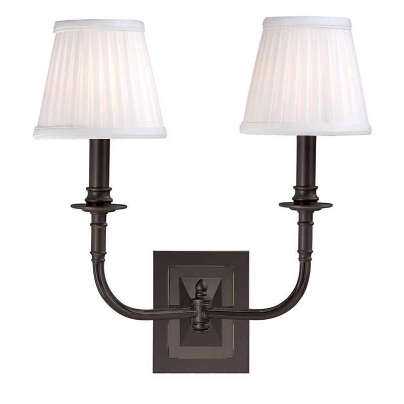 Hudson Valley Lighting 2702 Two Light Wall Sconce from the Lombard Sale $320.00 ITEM: bci524927 ID#:2702-OB UPC: 806134013196 :