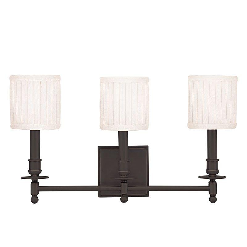 Hudson Valley Lighting 303 Palmer 3 Light Bathroom Vanity Fixture with Sale $399.00 ITEM: bci524768 ID#:303-OB UPC: 806134013882 :
