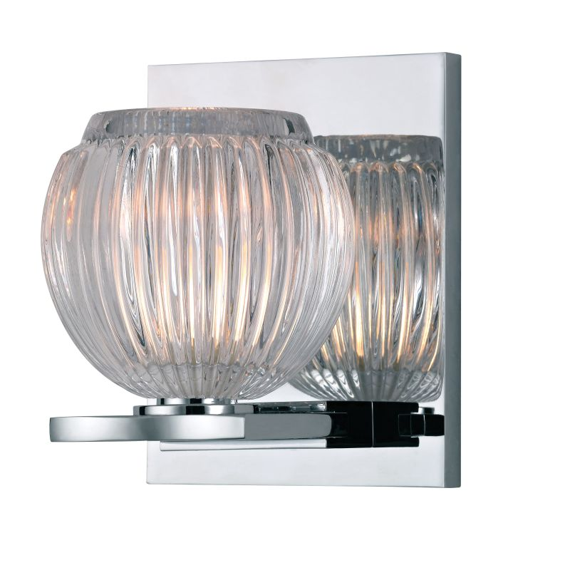 Hudson Valley 3161-PC Polished Chrome Contemporary Odem Bathroom Light