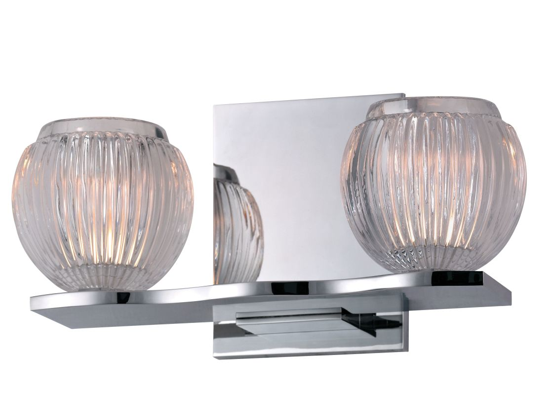 Hudson Valley 3162-PC Polished Chrome Contemporary Odem Bathroom Light