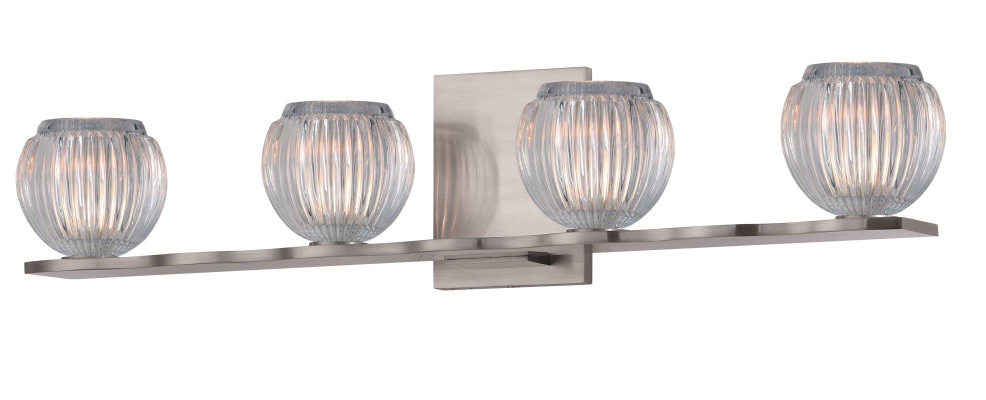 Hudson Valley 3164-SN Satin Nickel Contemporary Odem Bathroom Light